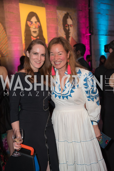 Kate Goodall, Philippa Hughes, The Phillips Collection, Annual Gala Afterparty, Contemporaries Bash, Union Market Dock 5. May 10, 2019, Photo by Ben Droz.