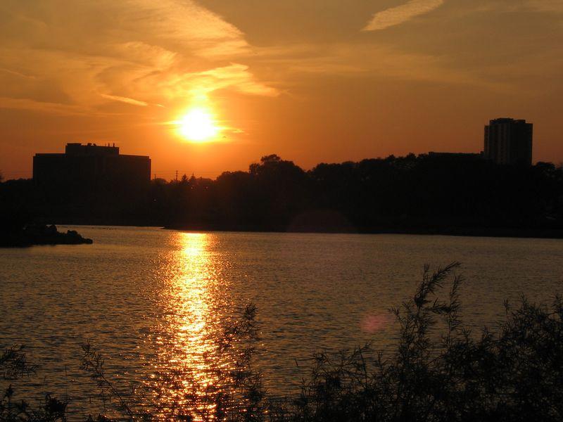 Sunset Across Humber Bay