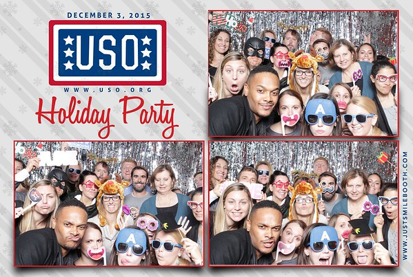 USO Holiday party 2015