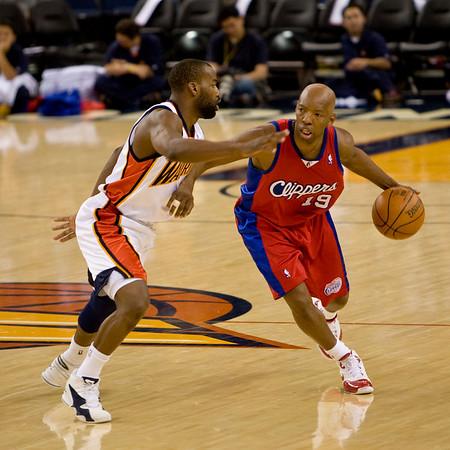 Clippers Warriors preseason 10-14-07