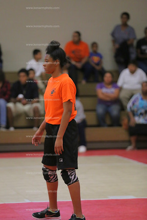 Clarkton vs Etown at East Arcadia volleyball 2015