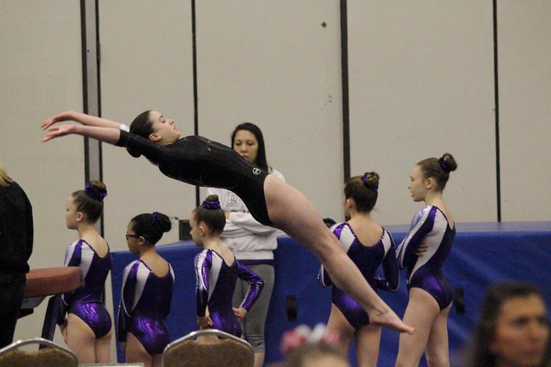 Grace on Vault @ Springfield Women's Gymnastics Tournament