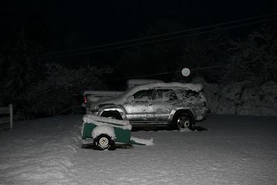 Snow Day at the Rancho... 12.7.09