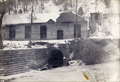 Hydroelectric projects in Spearfish Canyon - ca 1904 to 1912