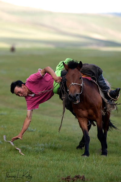 Naadam Festival at Bunkhan Valley. Mongolia.