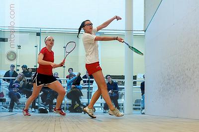 2011-03-04 Courtney Jones (Penn) and Margaret Remsen (Cornell)