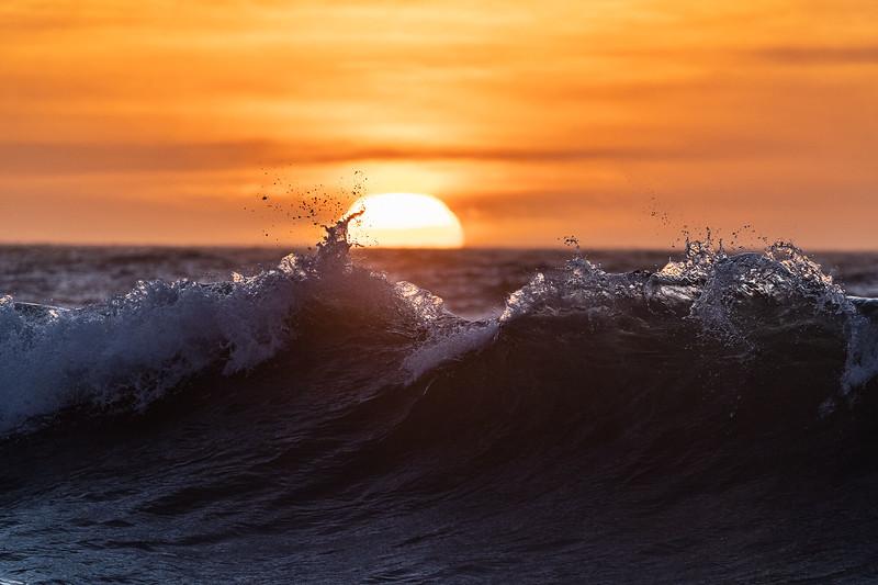 wave + sunset at North sea.jpg