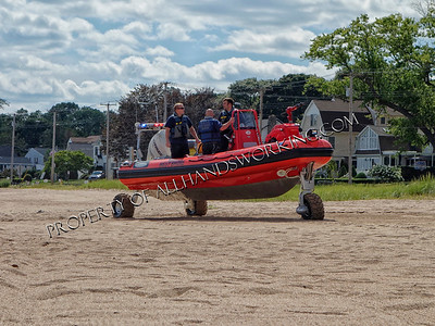West Haven fireboat Marine 3 training