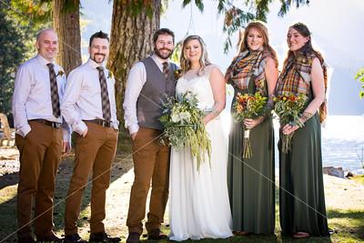 Jess & Daniel • First Look & Wedding Party Portraits