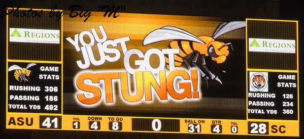 Homecoming Alabama State University vs Stillman College 11/28/2013
