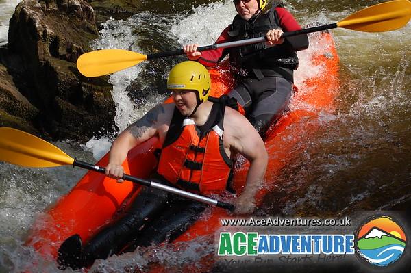 9th of June 2013 Canoe&Kayak river Findhorn