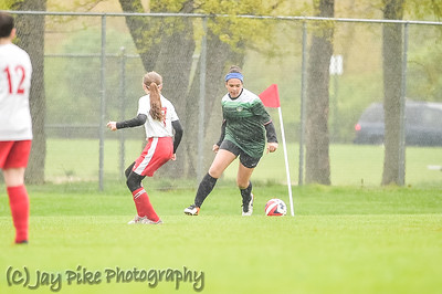 April 29, 2017 - PSC U13 Girls White - vs KZoo Crew