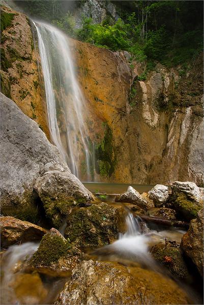 Sovpat waterfall
