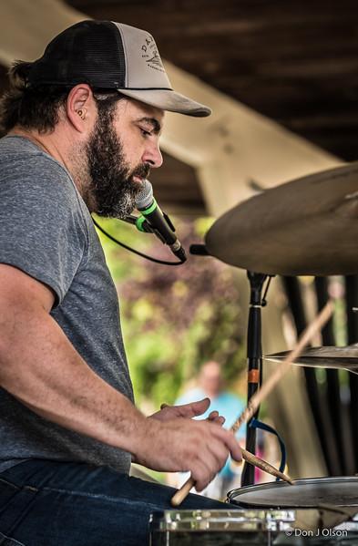 J.T. Bates--Erik Koskinen Band--2017 Rock Bend Folk Festival-St. Peter, MN.