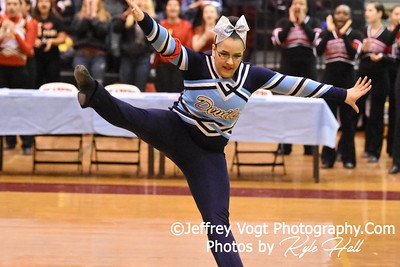 2-13-2016 Springbrook HS Varsity Poms at Blair HS MCPS Championship, Photos by Jeffrey Vogt Photography with Kyle Hall