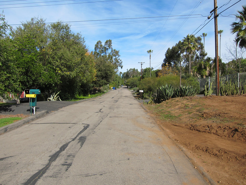 Quiet street...close to Steel Canyon High School and Rancho San Diego.