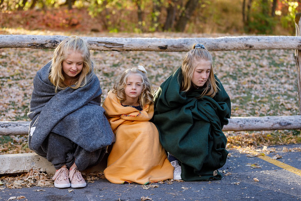 Bush Family Portraits in Autumn