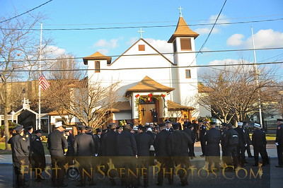 Funeral of Ex-Assistant Chief Joseph Sanford