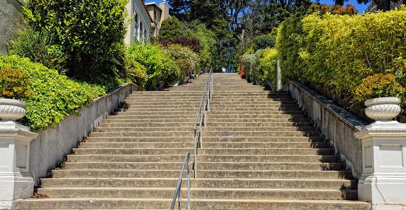 Mosaic Staircase San Francisco