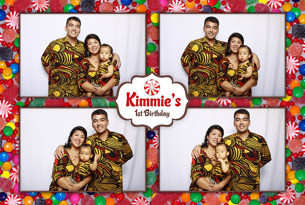 Kimmie's 1st Birthday (Fusion Portraits)