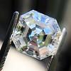 3.30ct Vintage Asscher Cit Diamond GIA J VS1 1