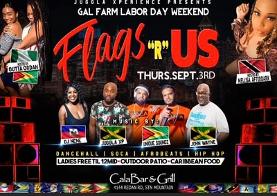 GAL FARM THURSDAYS PRESENTS FLAGS R US