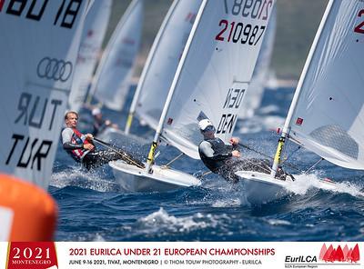 2021 EurILCA Under 21 Europeans