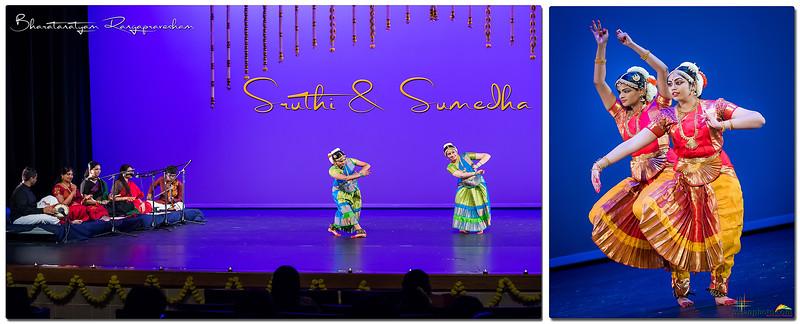 Sruthi & Sumedha's Bharatanatyam Rangapravesham 2019