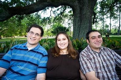 Aliza, Jason & Daniel
