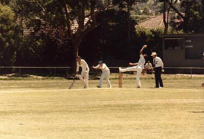 1983/1984 First  XI v Deepdene 4/2/1984