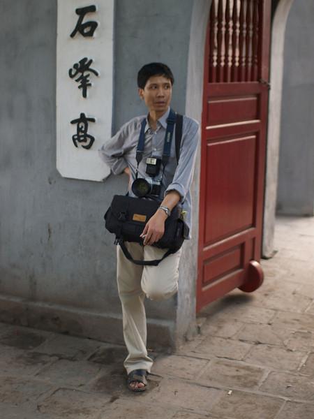 Even a Photographer needs to rest. (Foto: Geir)