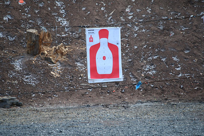 Qualifying with AR's, Rush Township Police, Silverbrook Rod and Gun Club, Kline Township (3-5-2012)