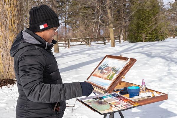 Plein Air Winter Nikon shots - uncropped proofs