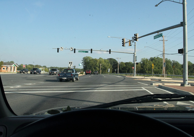 """The heart of the thriving metropolis """"Prince Frederick"""" and still no stoplights."""