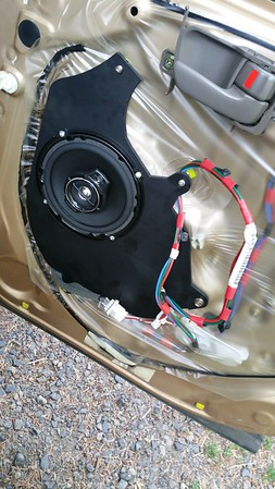 1998 Toyota Avalon Rear Door Speaker Installation