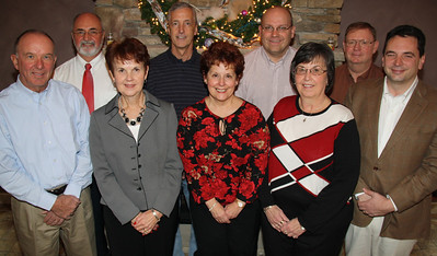 Longhi Financial Staff Photo, Basile's Restaurant, Hometown (12-15-2011)