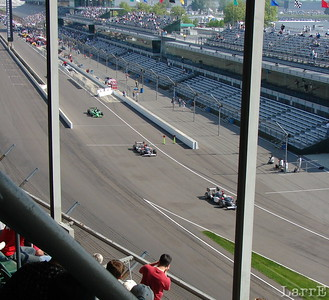 Indy qualifying '07