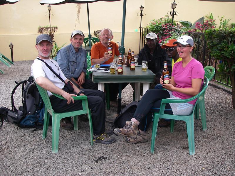 At Springland Hotel and Kilimanjaro bear