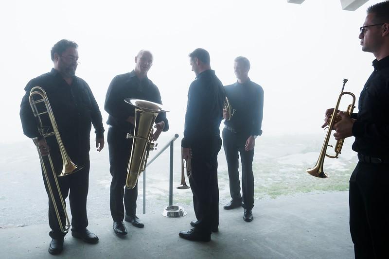 Blechblas-Solisten des Sinfonieorchesters St. Gallen
