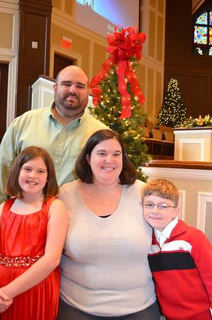 2014 Christmas Families