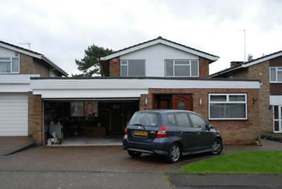 Garage location - 184 Albury Drive, Pinner