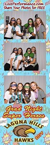 6/13/19 Laguna Hills HS Grad Night - Photo Booth PhotoStrips