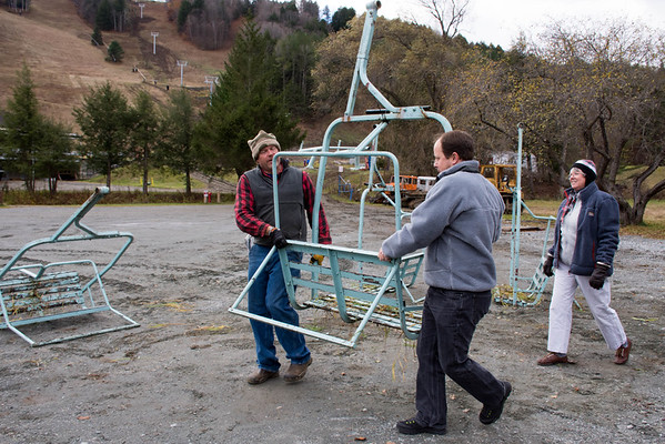 Suicide Six Old Ski Lifts _ Pick Up