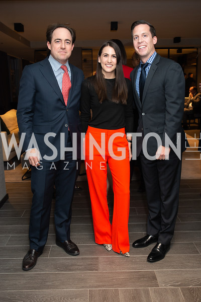 Denis Dwyer, Jessica Nobel, Chris Schmidt