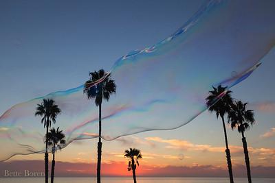 San Clemente Pier Sunset - 11/4/2016