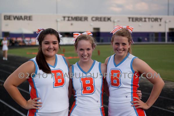Boone @ Timber Creek High School  Varsity Cheer - 2010