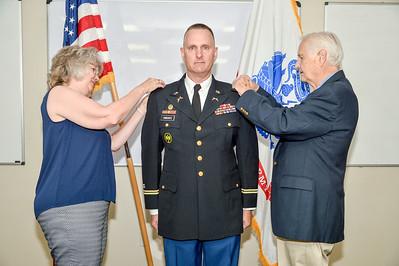 ROTC Col Yonkovitz Promotion