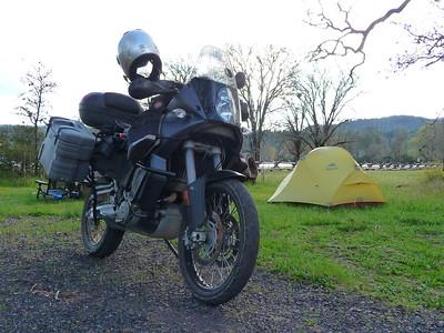 Mendocino camping 4/30/11