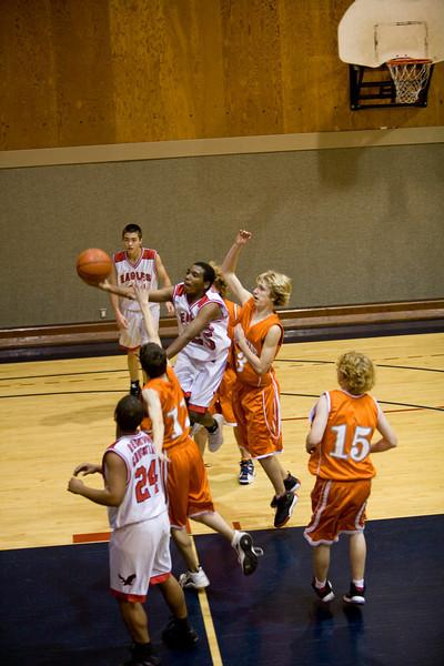 Basketball - Boys' JV vs Woodside - Dec 27, 2009