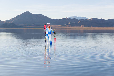 Sierra Bonneville Salt Flats Portraits